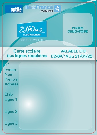 Carte Scolaire Bus